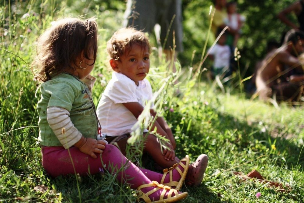 Small kids from Albești Valley