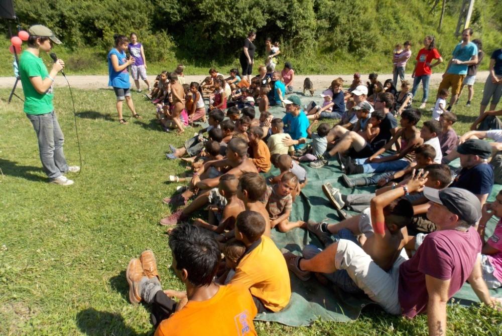 The kids program in Albești