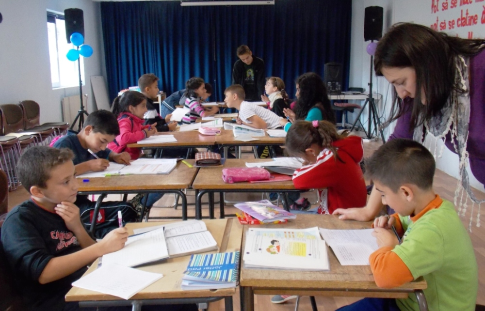 The big kids (grades 4 and 5)