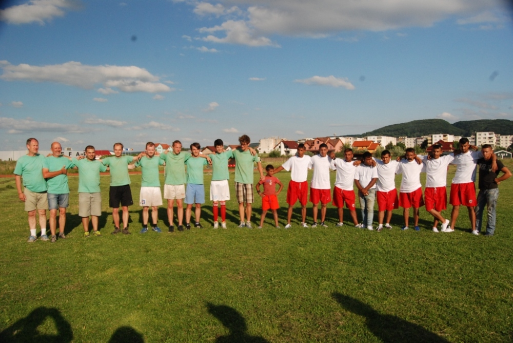 The soccer teams